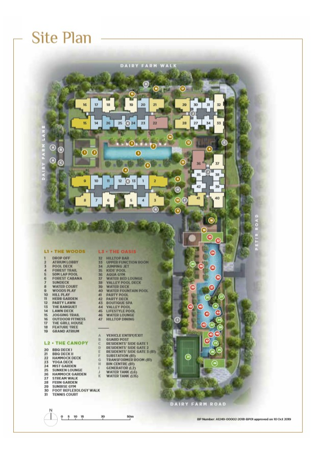 dairy-farm-residences-site-plan-singapore